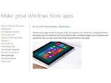 Bild: Microsoft nutzt die neue Bezeichnung Windows Store-Apps bereits auf seinen Webseiten.