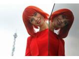 Bild: Miss IFA - das weibliche Maskottchen der Internationalen Funkaustellung in Berlin.