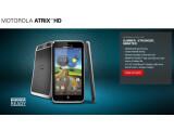 Bild: Motorola kündigt in den USA das Atrix HD an.