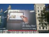 Bild: Auf dem MWC in Barcelona war das Galaxy Note 10.1 die Produktneuheit. Einen Marktstart gab es bisher jedoch nicht.
