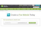 Bild: Network Solutions bietet eine werbefreie Website ohne Grundgebühr an.