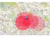 Bild: Netzpolitik hat eine Karte der möglicherweise betroffenen Berliner Bezirke erstellt.