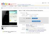 Bild: Das Nexus 4 ist bei eBay nur einen Klick entfernt, dafür aber deutlich teurer als bei Google Play.