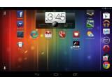 Bild: Das Nexus 7 kann nun auch den Startbildschirm im Querformat anzeigen.