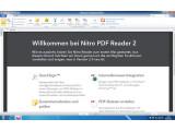 Bild: Der Nitro Reader ist für einfache Änderungen an PDFs durchaus geeignet.
