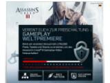 Bild: Noch sind einige Likes und Tweets nötig, damit der Gameplay-Trailer freigeschaltet wird.