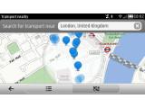 """Bild: Nokia hat die App """"Bus & Bahn"""" veröffentlicht. Sie bietet Überblick über die Nahverkehrspläne in über 80 Städten weltweit."""