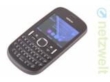 Bild: Das Nokia Asha 201 tritt in Konkurrenz zu günstigen Einsteiger-Smartphones.