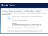Bild: Für die Ortung eines verlorenen Handys gibt es zahlreiche Dienste. Beispielsweise bietet der Netzbetreiber Telefónica Germany seinen Kunden einen kostenlosen Handy Finder.