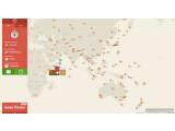 Bild: Per Karte werden die Nutzer den Weihnachtsmann an Heiligabend verfolgen können.