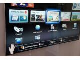Bild: Per Stimme und Gesten steuerbar: Samsung Smart-TV ES 8090 auf der CES 2012