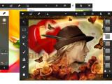 Bild: Photoshop Touch unterstützt neben Android nun auch Apple iOS.