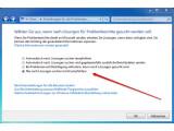 Bild: Die Problemberichterstattung kann mit einem Klick komplett abgeschaltet werden.