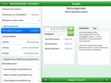 """Bild: Das Programm """"Steuer App 2011"""" ermöglicht die Erstellung der Steuererklärung auf dem iPhone."""