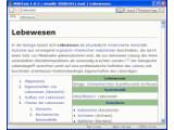 Bild: Mit dem Programm WikiTaxi kann die Wikipedia auch offline gelesen werden.