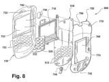 Bild: RIM beschreibt in seinem Patentantrag den Aufbau eines BlackBerrys mit Brennstoffzelle.