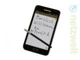 Bild: Das Samsung Galaxy Note erhält im zweiten Quartal 2012 ein Update auf Android 4.0.