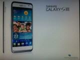 Bild: Ist das das Samsung Galaxy S3? Das Bild soll Samsungs neues Smartphone-Flaggschiff zeigen.