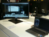 Bild: Die Samsung Smart Station war auf der CeBIT nur in einem Video zu sehen.