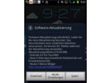Bild: Samsung hat mit der Veröffentlichung des Android 4.0-Update für das Galaxy Note begonnen.