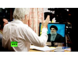 Bild: Sayyid Hassan Nasrallah war der erste Gesprächspartner von Julian Assange in The World Tomorrow.