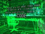 Bild: Hinter der schönen Fassade grafischer Oberflächen verbirgt sich Code.