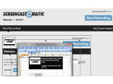 Bild: Screencast-O-Matic hat den Vorteil, dass es komplett webbasiert ausgeführt werden kann.