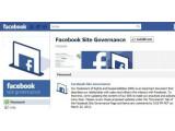 """Bild: Auf der Seite """"Facebook Site Governance"""" kündigt Facebook die Änderungen an."""
