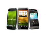 Bild: Smartphones der HTC One-Serie laufen mit Android 4.0 und sollen mit ihren Kameras und dem Sound überzeugen.
