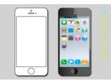 Bild: So könnte das Apple iPhone 5 den Plänen zufolge aussehen.