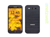 Bild: So könnte das Galaxy S4 aussehen.