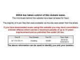 Bild: SOCA droht ehemaligen RnBXclusive-Nutzern mit zehn Jahren Haft.