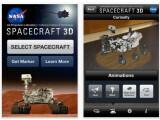 Bild: In Spacecraft 3D kann der Nutzer den Mars-Rover Curiosity begutachten.