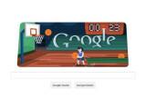 Bild: Spielen Sie Basketball im aktuellen Google Doodle.
