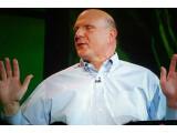 Bild: Steve Ballmer eröffnet die Keynote auf der CES 2012