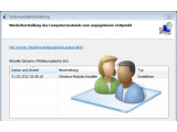 Bild: Die Systemwiederherstellung kann verwendet werden, um ein Kennwort zurückzusetzen.