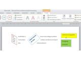 Bild: Textfelder bieten vielfältige Möglichkeiten, ein Word-Dokument zu gestalten.