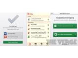 Bild: The Verge hat einen ersten Screenshot der mobilen Office-App veröffentlicht.