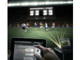 Bild: Das Tracking-System miCoach zeigt die Leistung der einzelnen Spieler auf dem Feld in Echtzeit an.