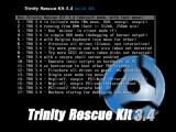 Bild: Das Trinity Rescue Kit hilft beim Zurücksetzen von Windows-Passwörtern .