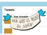 Bild: Tweets mit Inhalten, die gegen das Urheberrecht verstoßen, werden ab jetzt mit einem Platzahltertext versehen.