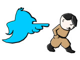 Bild: Twitter sperrt nach den neuen Richtlinien einen deutschen Neo-Nazi-Account.