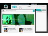 Bild: Übersichtlich: Webbrowser-Interface von Juke.