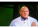 Bild: Viel Leidenschaft, wenig Neuigkeiten: Steve Ballmer brachte leider keine neuen Produkte mit auf die CES-Bühne.