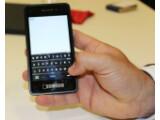 Bild: Mit der virtuellen Tastatur von BlackBerry 10 sollen Nutzer so schnell wie auf einer physikalischen Tastatur tippen können. (Billd: netzwelt)