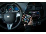 Bild: Während der Fahrt soll das Display des iPhones im so genannten Eyes Free mode deaktiviert bleiben, um Ablenkungen zu vermeiden.