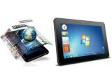 Bild: Während das ViewPad G70 (links) mit Android 4.0 läuft, kommt beim ViewPad P700 Windows 7 zum Einsatz.