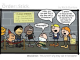 """Bild: Der Webcomic """"Order of the Stick"""" gehört zu den erfolgreichsten Projekten bei Kickstarter."""