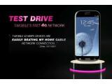 Bild: Auf der Webseite von T-Mobile USA ist das schwarze Samsung Galaxy S3 zu bewundern.