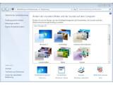 Bild: Unter Windows 7 kann jeder Nutzer eigene Designs erstellen und an Freunde weitergeben.